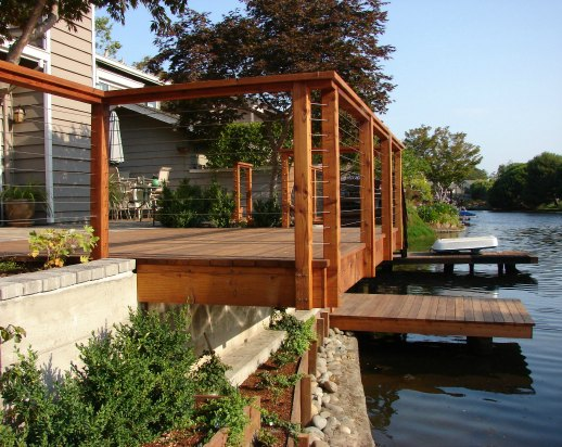 Waterfront landscaping for Waterfront landscape design