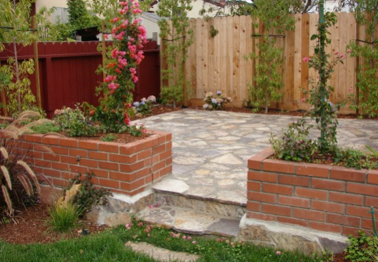 Three Rivers Flagstone patio