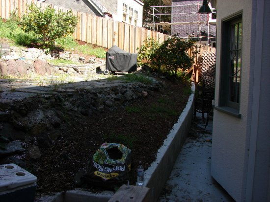 Failing Retaining Wall