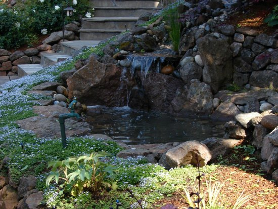 Garden Waterfall Water Feature