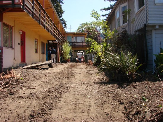 Landscape Preparation for Urban Apartment Complex