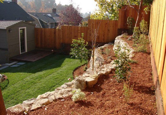 Landscaping with Upper Terrace