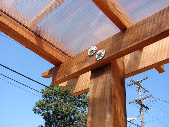 Transparent Panels at Custom Trellis