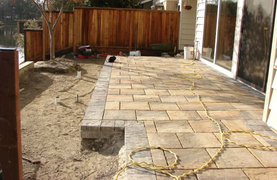 Installing Pavers Over Base Rock