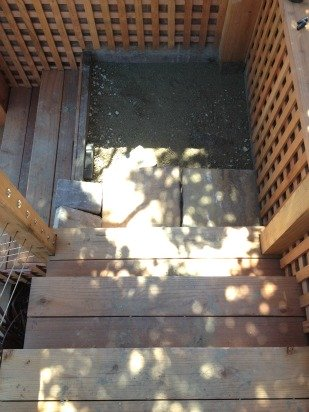 Stairs with Pavers